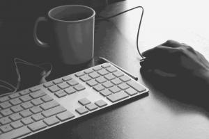 Keyboard Background - Ipswich Websites