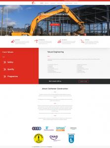 Colchester Construction Website